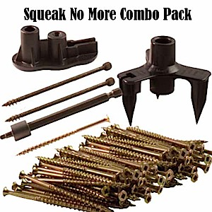 Squeeeeek No More / Counter Snap Combo Pack - 100 Screws