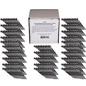 3172 - (250) Counter Snap Extra Snap-Off AT-THE-JOIST Screws